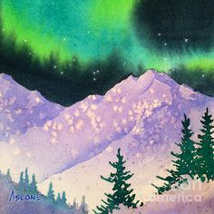 236x236 41 Best Northern Lights Child Painting Projects Images On