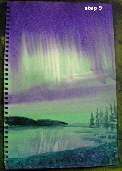 423x593 Northern Lights (Wiptutorial)