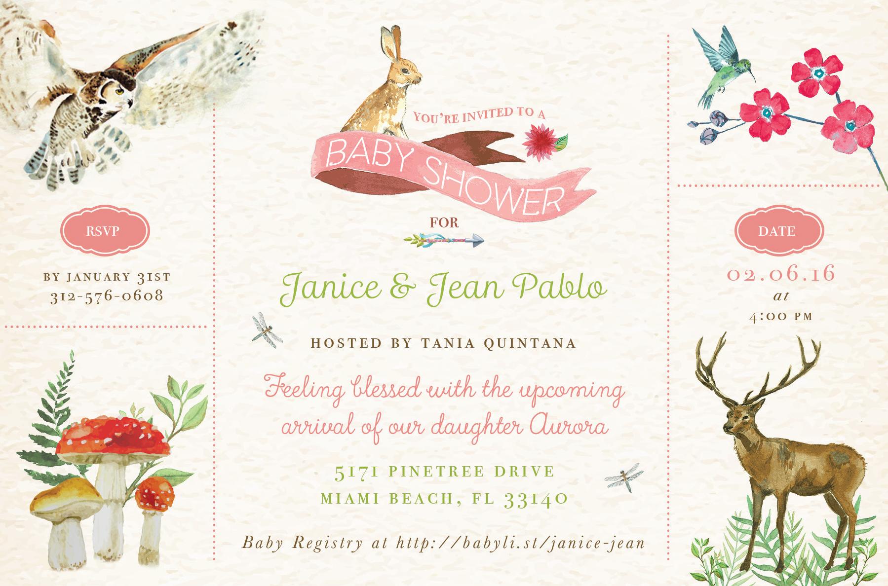 1799x1188 Baby Shower Invitation Nicole Andujar