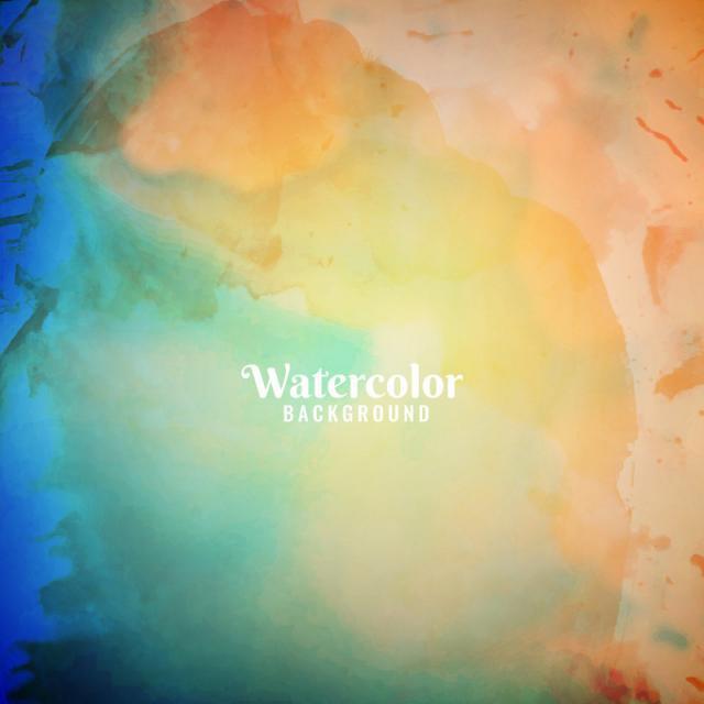 Watercolor Backdrop