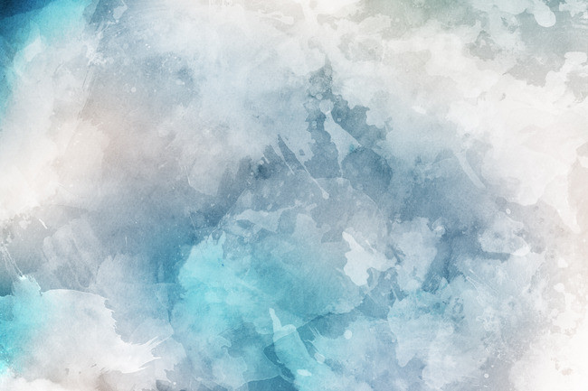 650x433 Watercolor Background, Watercolor, Grain, Blue Background Image
