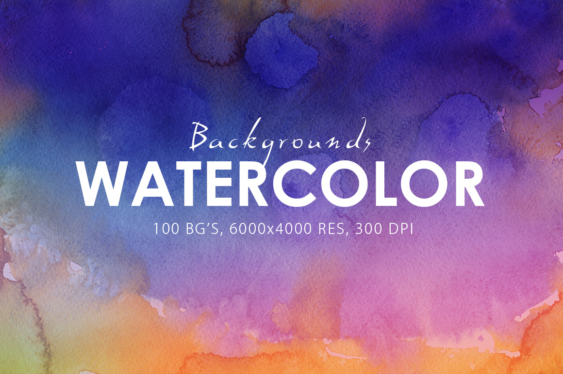 Watercolor Background Paper