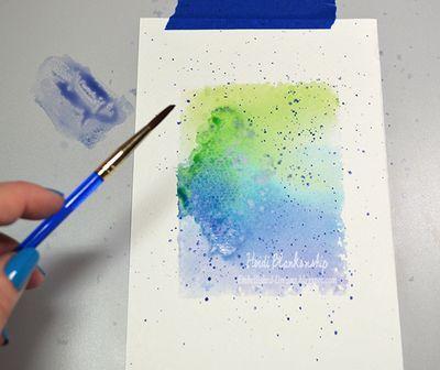 Watercolor Background Techniques