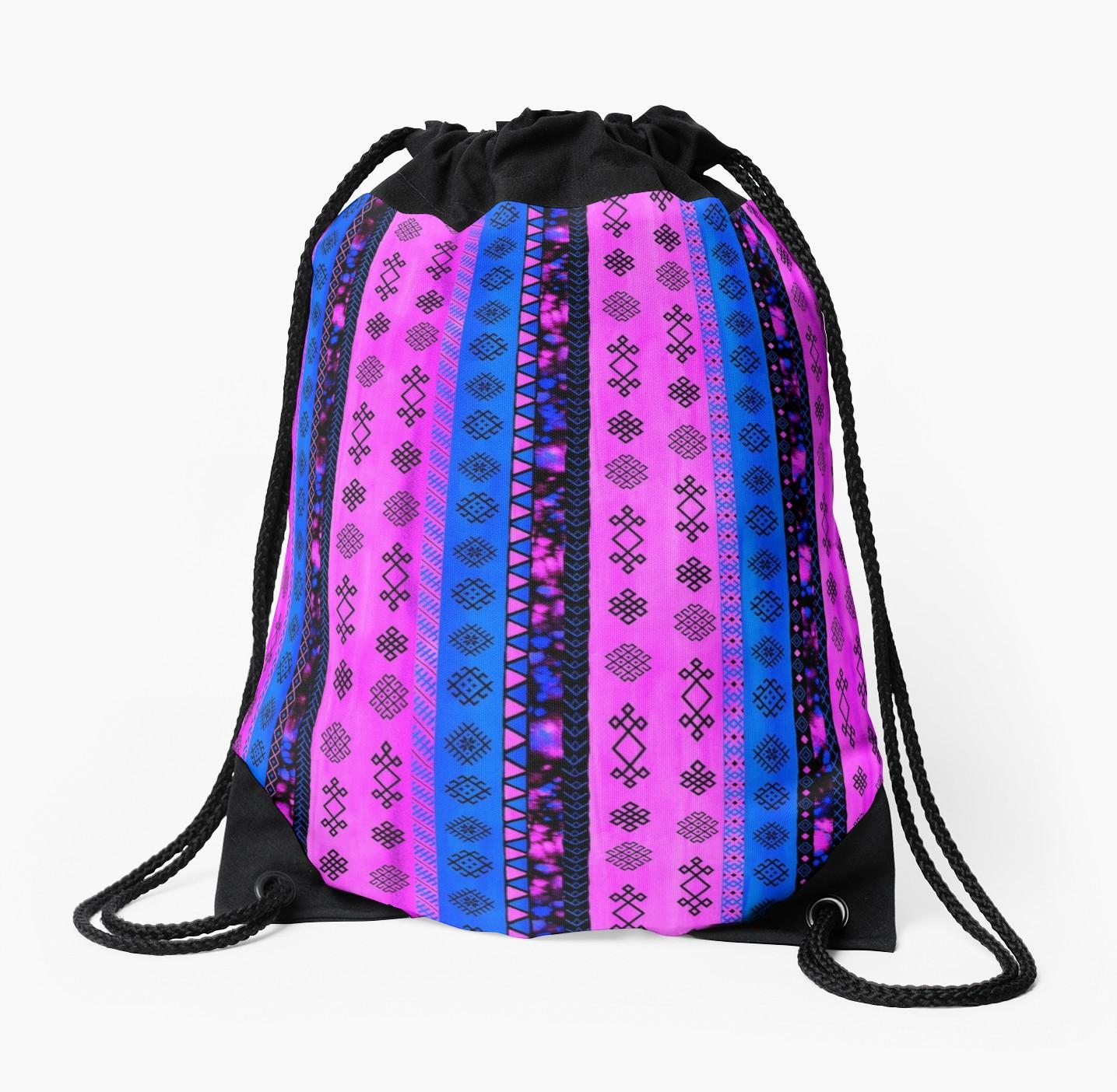 c634889e217b 1435x1404 Pink Watercolor Backpack Fenix Toulouse Handball