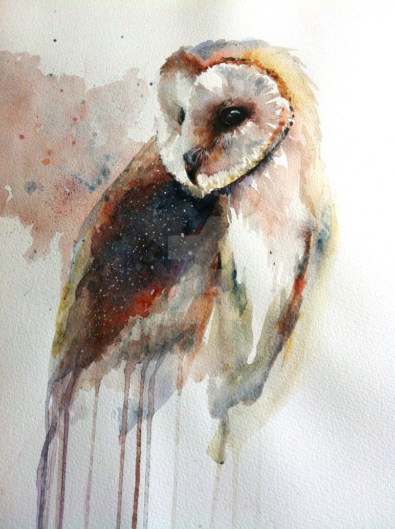 772x1034 This Is Eric The Barn Owl Who Lives In Oxford. He Has Been Painted