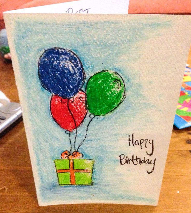 Watercolor Birthday Card Ideas