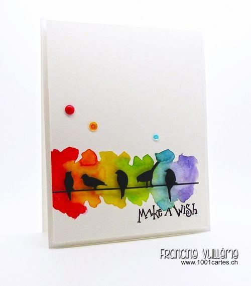 Watercolor Birthday Card Ideas At GetDrawings
