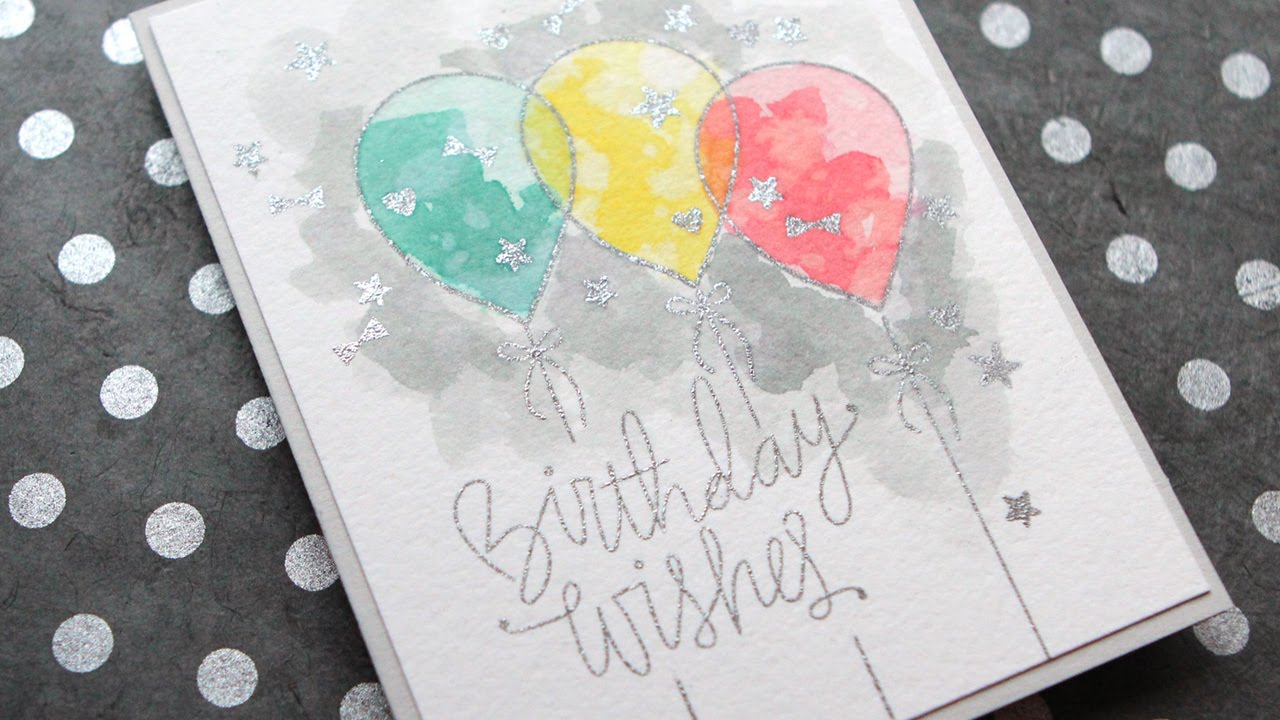 Watercolor Birthday Card Ideas At Getdrawings Com Free For