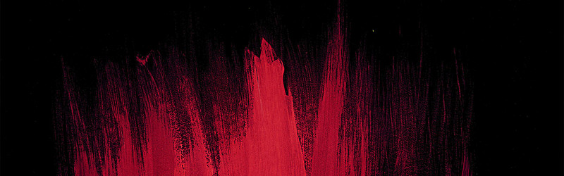 800x250 Watercolor Black Red Background, Watercolor, Red, Black Background