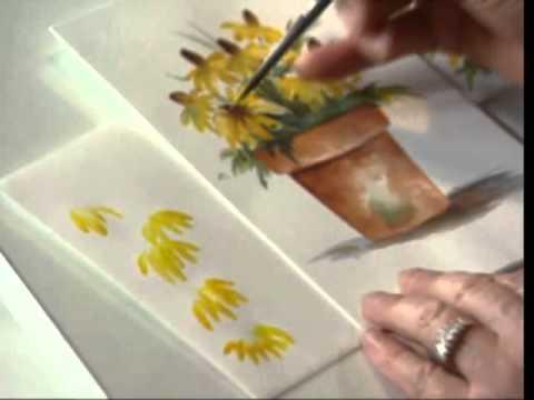 480x360 Black Eyed Susan Using Watercolors By Susan Scheewe Video By