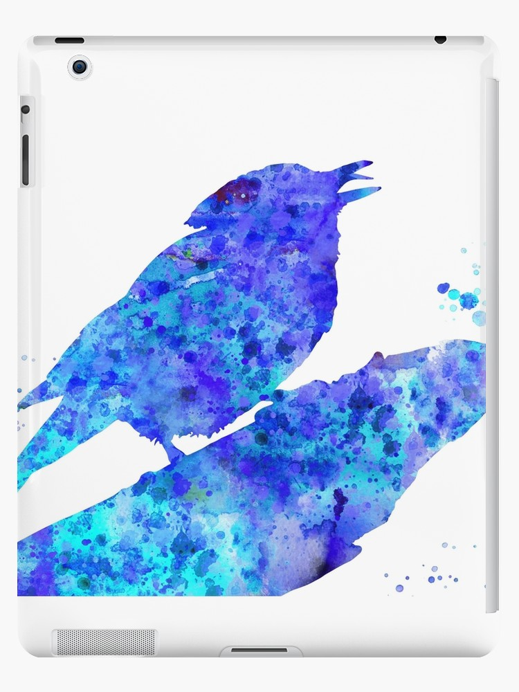 750x1000 Blue Jay, Blue Jay Art, Watercolor Blue Jay Ipad Cases Amp Skins By
