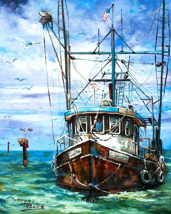 570x712 Paintings Of Boats Boat Oil Paintings On Canvas Boat Oil Paintings
