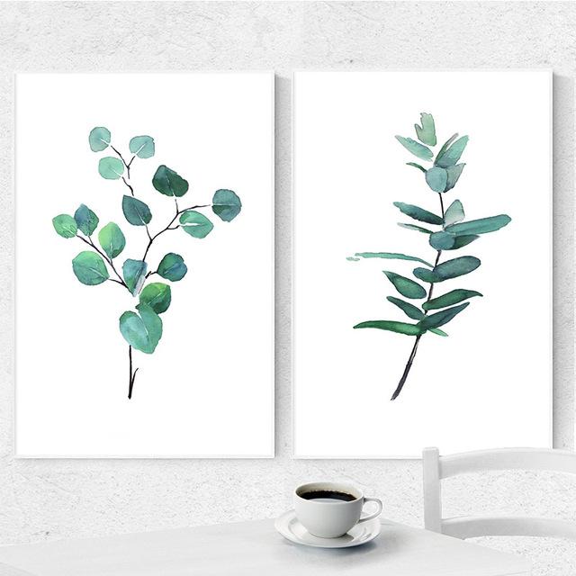 640x640 Poster And Prints Eucalyptus Art Print Botanical Poster Watercolor