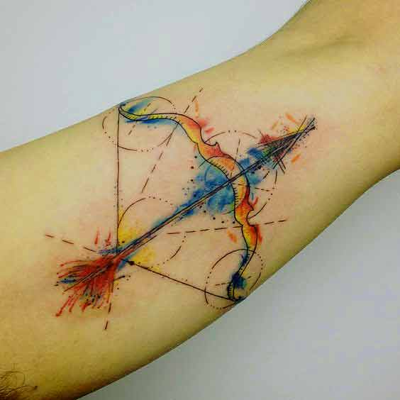 564x564 55 Best Sagittarius Tattoos Designs And Ideas With Meanings