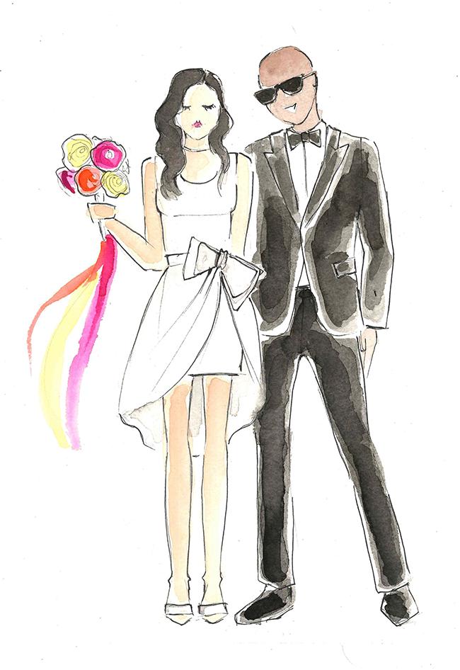 650x946 Custom Watercolor Illustrations!