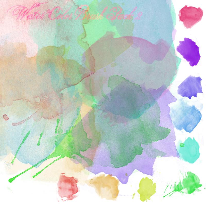 Watercolor Brush Texture