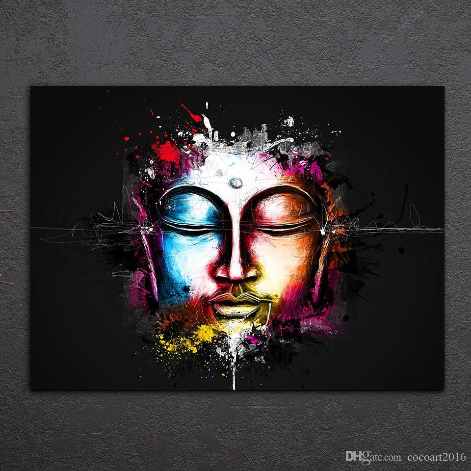 Watercolor Buddha Painting