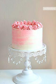 Watercolor Cake Decorating