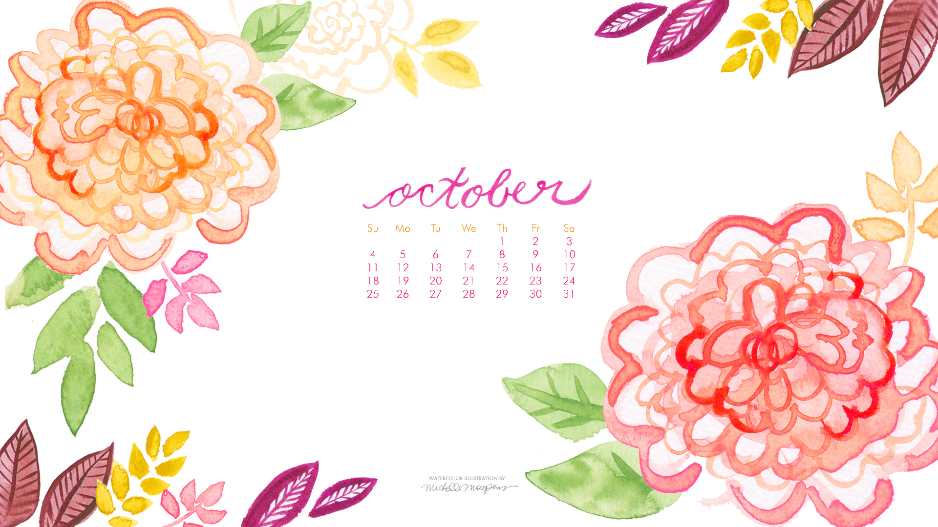 The Best Free Calendar Watercolor Images Download From 179