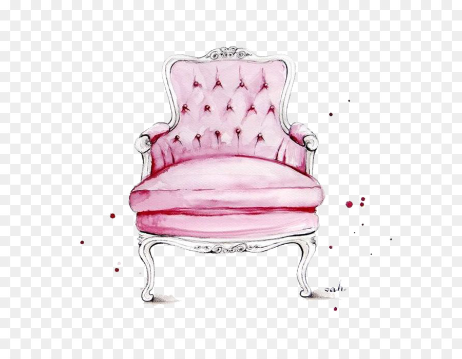 900x700 Chair Fashion Illustration Watercolor Painting Illustration