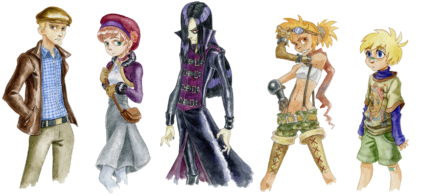 862x400 Watercolor Character Portraits And Faces Rpg Maker Forums