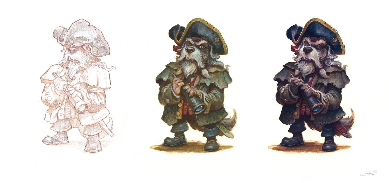 1600x753 Billy Bones Character Design Process