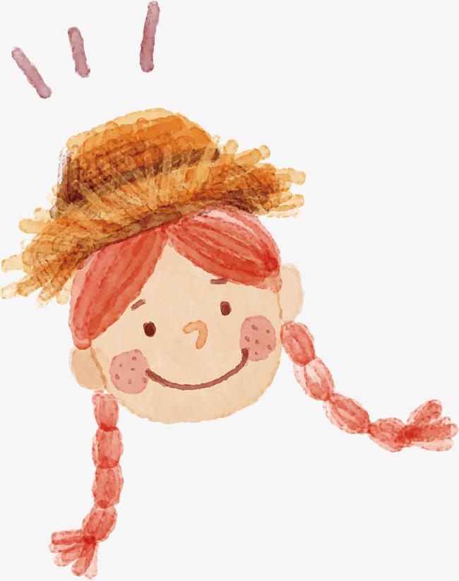 650x823 Watercolor Girl Characters, Watercolor Vector, Girl Vector, Little