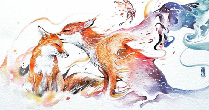 700x367 Watercolor Has An Unpredictable Character That Lets Me Create