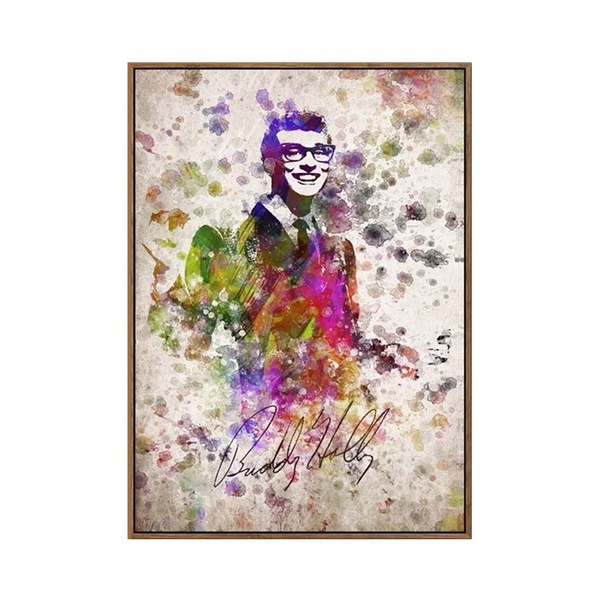 600x600 Wish European Modern Abstract Style Watercolor Characters(Buddy