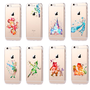 300x300 For Iphone Watercolor Cartoon Disney Characters Cell Phone