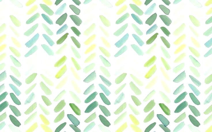 736x460 Watercolor Wallpaper Desktop Desktop Green Chevron Wallpaper For