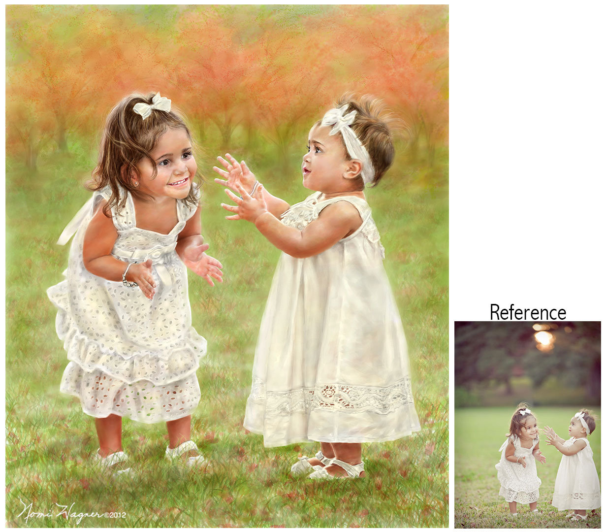 1231x1080 Portrait Painting Of Children, Watercolor Portraits, Portrait