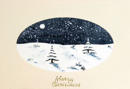 Watercolor Christmas Card Ideas at GetDrawings.com | Free for ...