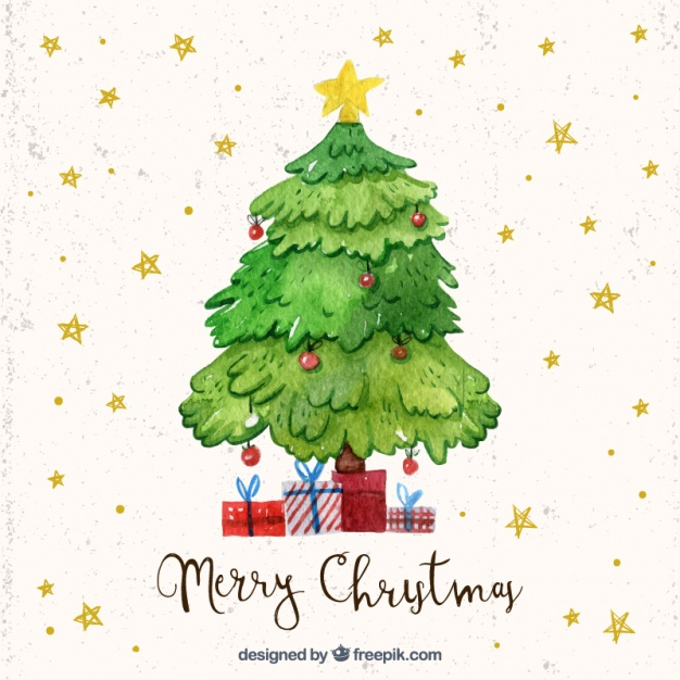 Christmas Tree Images Free Download.Watercolor Christmas Tree At Getdrawings Com Free For
