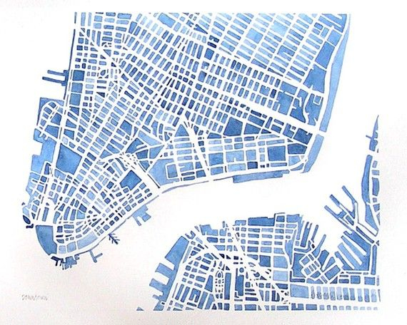 570x456 Map Of Downtown Nyc Reserved Downtown New York City Brooklyn City