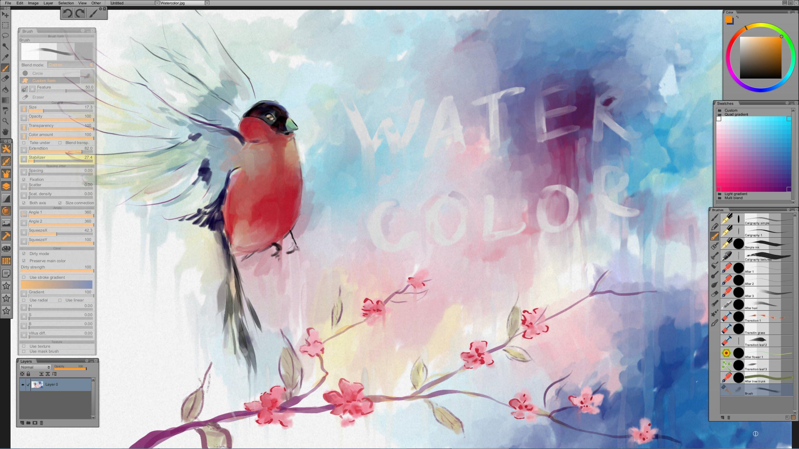 Watercolor Clip Studio Paint At Getdrawings Com Free For Personal