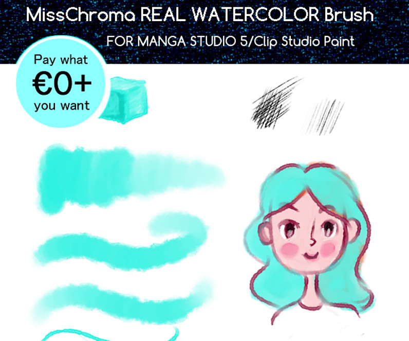 clip paint studio free brushes