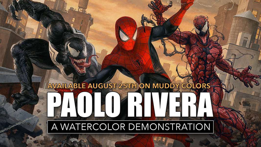 1067x600 Watercolor Demo With Paolo Rivera Muddy Colors