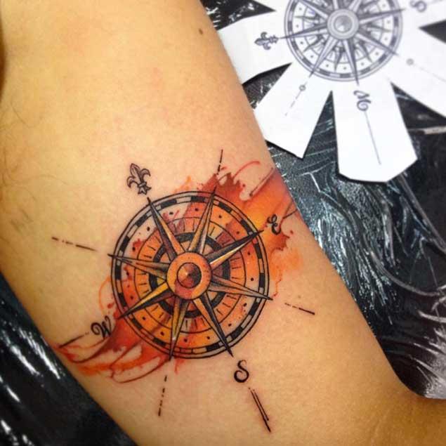 635x635 42 Friggin Amazing Compass Tattoos