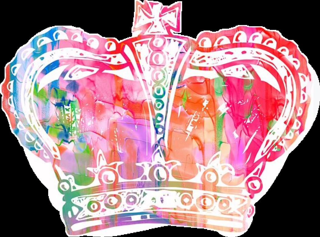 1049x777 Crown Watercolor