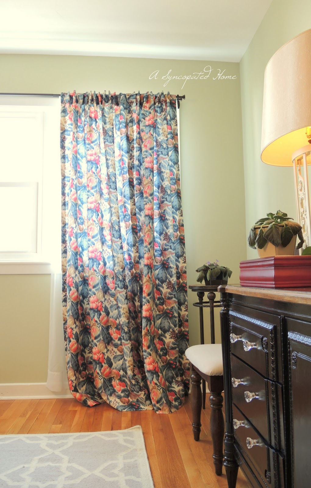 Watercolor Curtains