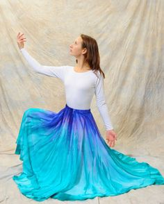 Watercolor Dance Dress