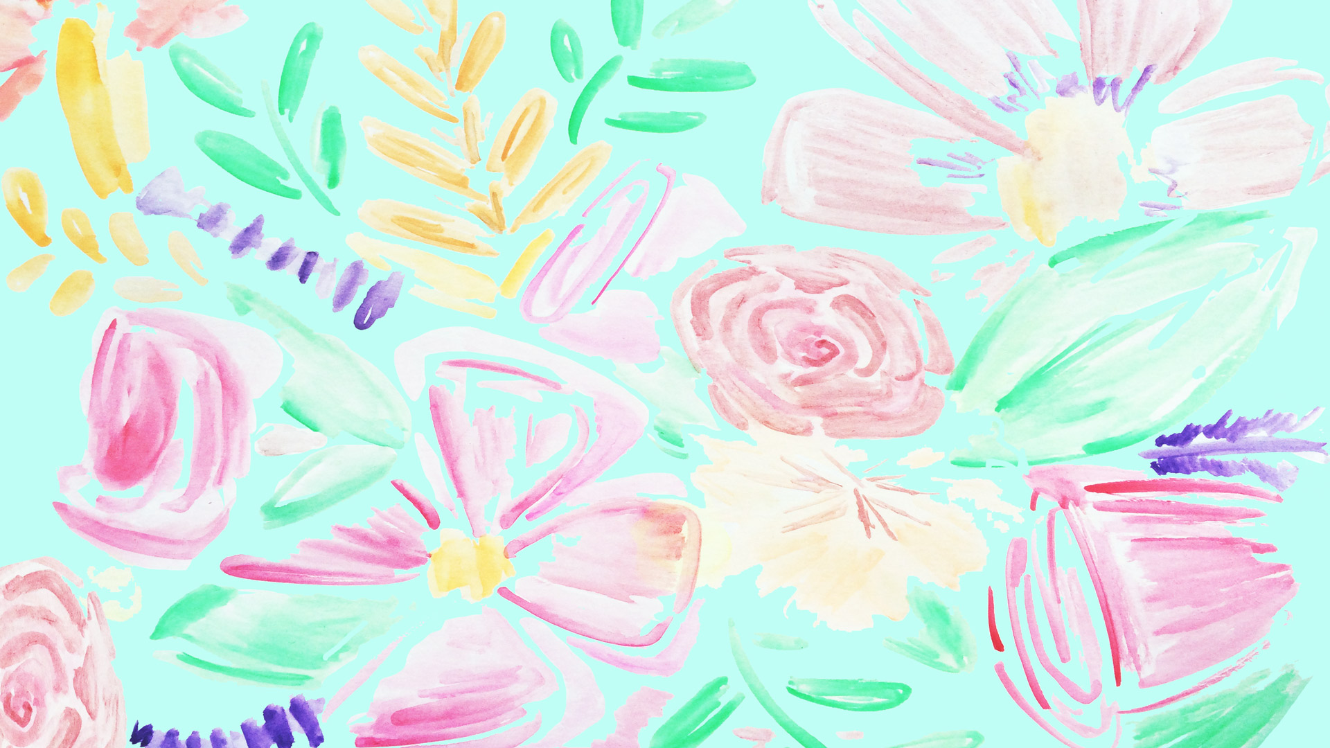 Watercolor Desktop Wallpaper At Getdrawings Free Download