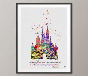 300x260 Cinderella Disney Inspired Princess Castle Quote Disney Castle