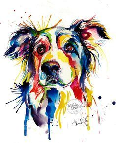 236x290 805 Best Dog Art Images Dog Paintings, Dog Pop Art