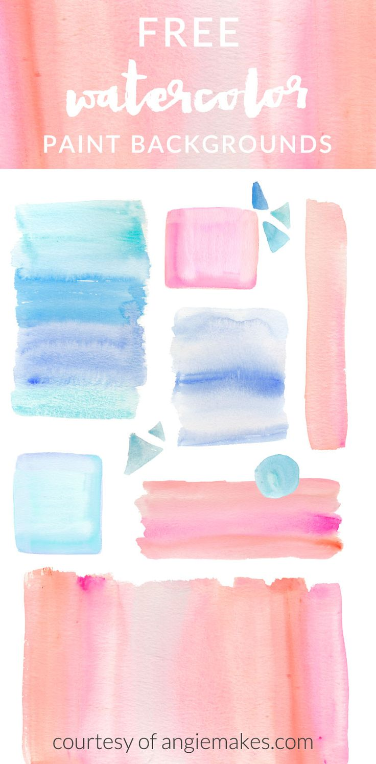 736x1495 Free Ombre Watercolor Backgrounds Graphic Freebies