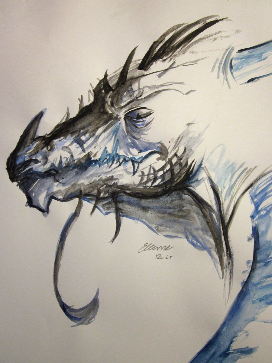 900x1200 Watercolor Paintings Dragon Watercolor Dragon By Sunsetdragonfly