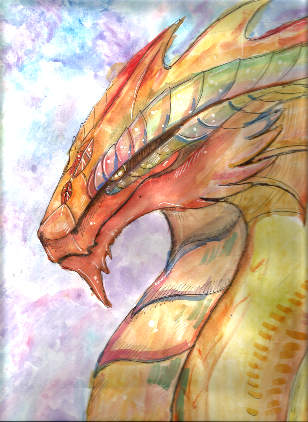1024x1405 Dragon Painting Best Of Japanese Dragon Painting Liam Ryan