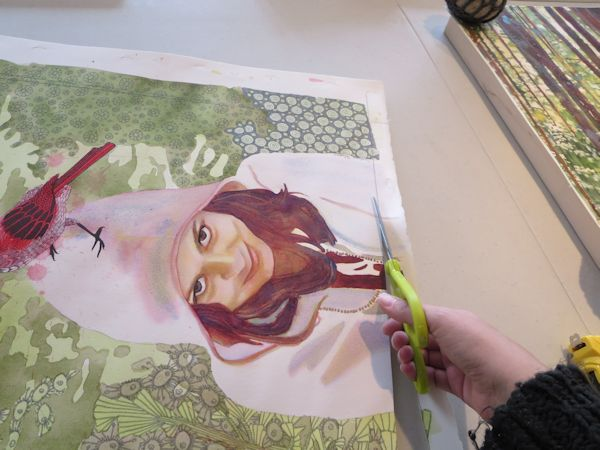 600x450 How To Mount A Watercolor Painting On Board, A Step By Step Tutorial