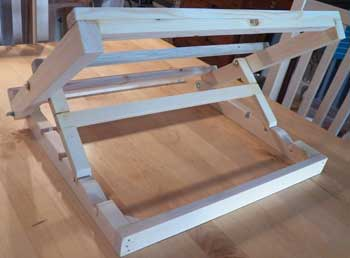 350x258 Making A Watercolour Table Easel.